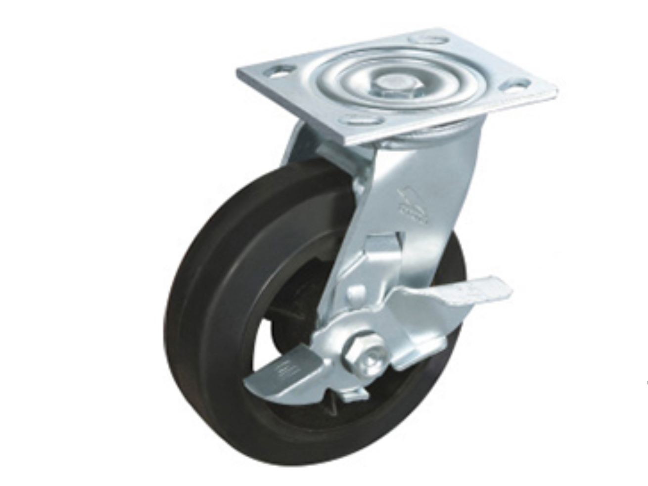 Iron-Core Rubber Wheel MR