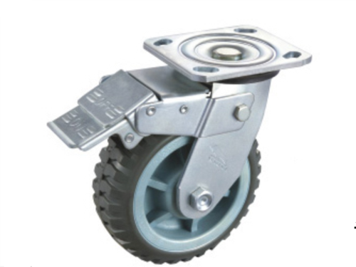 Plastic-Corn Anti-Skid PU Wheel (2)